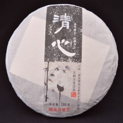 2015 Autumn Old Arbor Yue Guang Bai Tea Cake * 200 grams