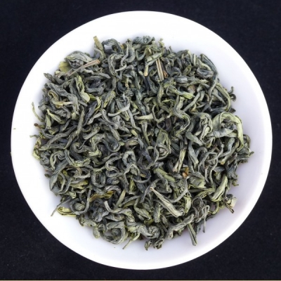 Jiangxi High Mountain Organic Bi Luo Chun Green Tea from Da Zhan