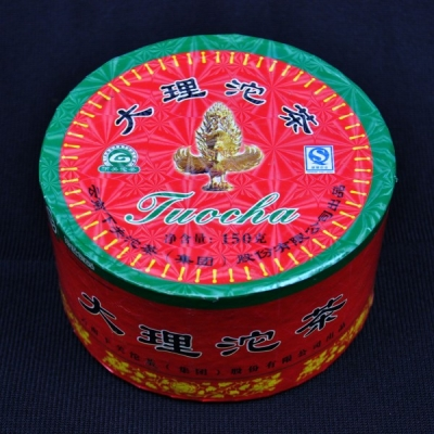 "2006 Xiaguan ""Dali Tuo"" Raw Pu-erh tea in Box"